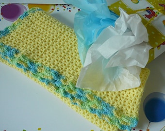 "Crocheted Yellow V Stitch  Baby Blanket               READY TO SHIP                    Size 36"" x 33"""