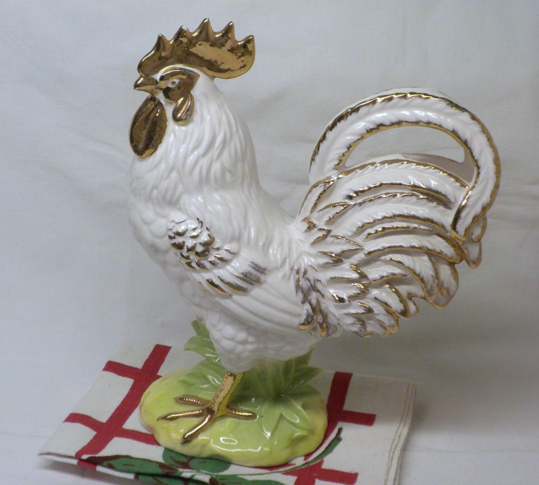 Vintage Ceramic Rooster 93