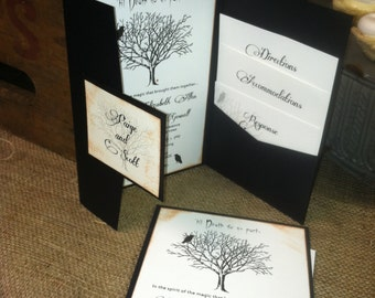 Till Death Do Us Part Goth Wedding by Kim Boyce Designs