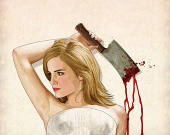 Slaughterhouse Starlets - Emma Watson Print
