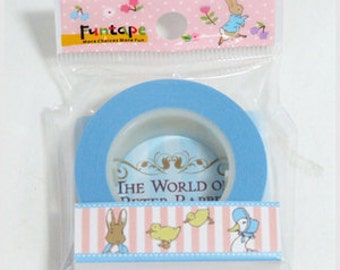 Funtape Masking Tape - Peter Rabbit - Pink Stripes