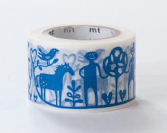 mt Washi Masking Tape - Adam and Eve - Bengt & Lotta