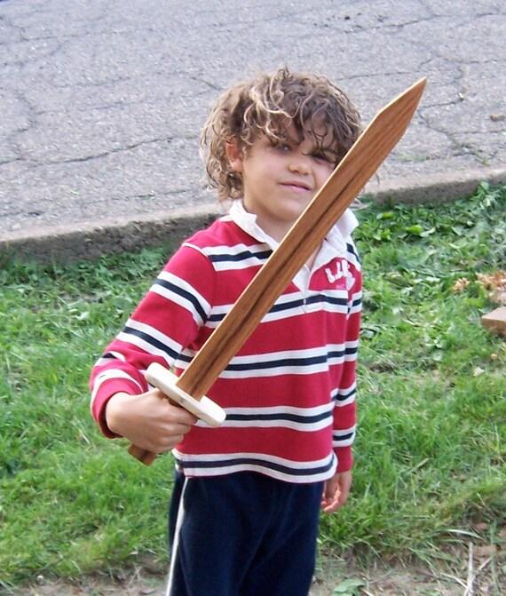 Wooden Oak Sword