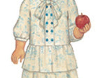 Oliver and S Apple Picking Dress pattern fits sizes 6 months to 4 years  -- free shipping in US