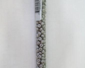 6/0 Matte Opaque Grey Seed Bead 20 Grams Beads
