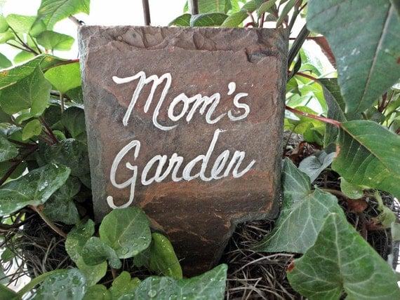 Mom's Garden markers