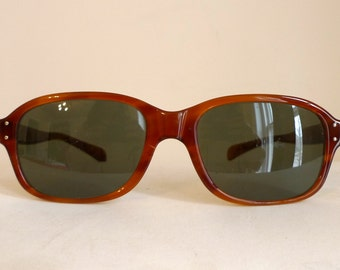 BIG Designer Vintage Tortoise Shell Horn Rimmed Eyeglasses, Mad Men Sunglasses / Rectilinear DMC / Film Director Frames