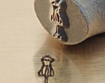 JUMBO 9.5mm - DRESS FORM  Metal Design Punch for Personalized Stamped Jewelry Blanks