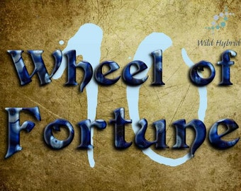 10 Wheel of Fortune perfume oil - 5ml - Oudh, ho leaf, violet, lilac, ginger, pinon, exotic fruits, vanilla and a sprinkle of cinnamon.