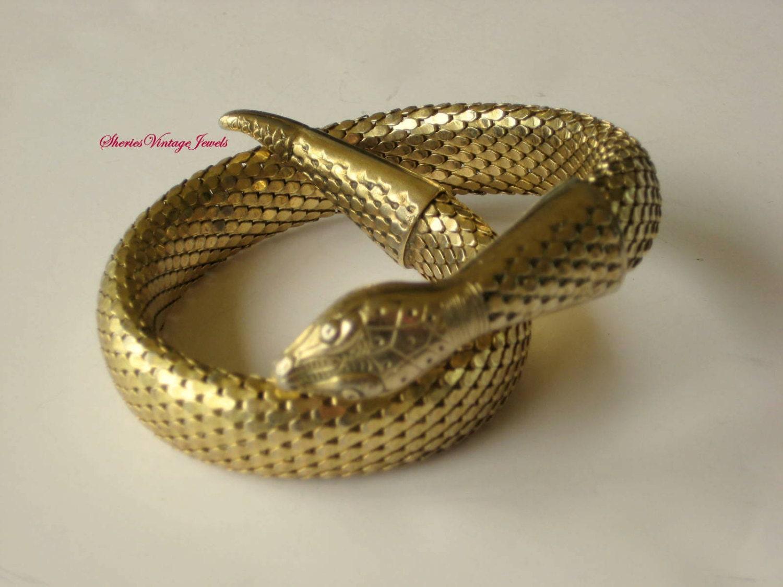 Pulsera davis snake vintage whiting