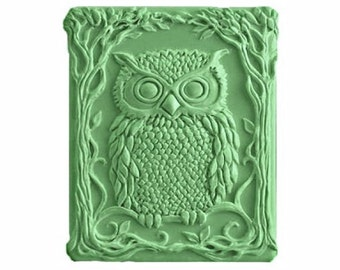 Owl Soap - Organic Soaps - Green Soaps -  Decorative Soap  -  Glycerin Soap - Natural Soap - Moisturizing  - Fragrance Oil Cucumber Melon