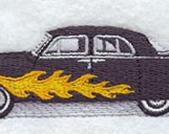 1951 Ford Mercury Embroidered Terry Kitchen Towel  Bathroom Hand Towel