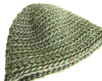 PDF Crochet Pattern Unisex Ribbed Beanie - Permission to sell finished items - quick and easy