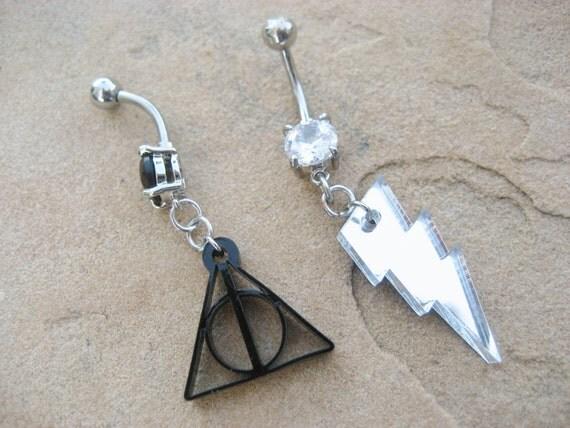 Harry Potter Navel Ring