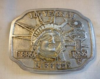 SALE Vintage Liberty Belt Buckle