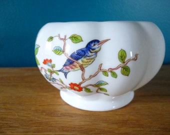 Vintage AYNSLEY Pembroke Small Ribbed Bowl, Fine Bone China