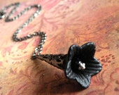 Nightshade Belladonna Flower Necklace