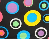 Bright Circles Fabric- Cotton - 29""