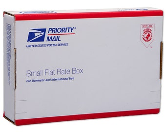 Domestic Priority Mail Upgrade - Small Flat Rate Box or Padded Envelope