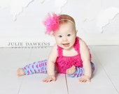 Blue and Pink Hearts Valentine Baby Leg Warmers