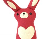 READY TO SHIP - Heart Bunny - Limited Edition Valentine's Day Plush by Sleepy King