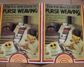 Vintage 70s Ins and Outs of PURSE WEAVING  pattern book
