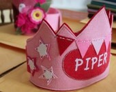 Stars and Bunting Birthday Crown