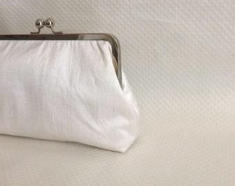 Bridal Clutch - Wedding Purse - Wedding Gifts - Ivory Bridal Clutch - Ivory Wedding Clutch - Bridesmaids Clutch - Marion Clutch