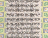 Life's Little Instructions, Poem Print Poster Gift Nice