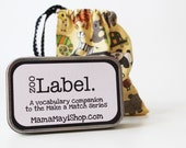 Label - Zoo - Montessori Word Relation Game