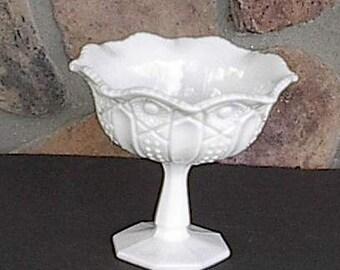 Milkglass Compote