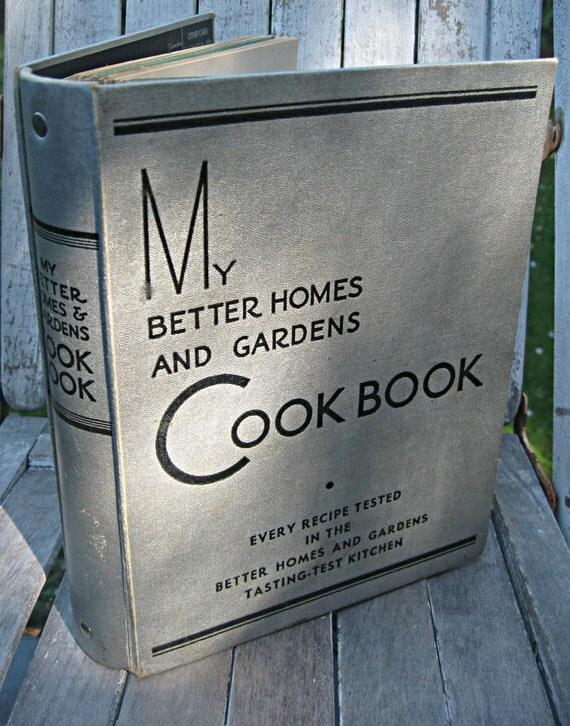 Vintage cookbook better homes and gardens cookbook mid - Vintage better homes and gardens cookbook ...
