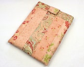 Patchwork iPad Sleeve in Salmon from Martinique by Moda - QuiltSewCover