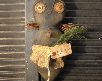 Primitive BzzZZ Bee Doll