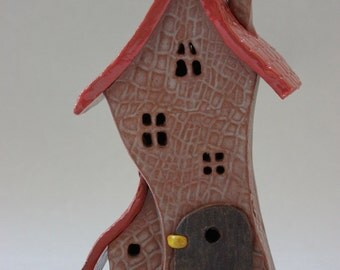Whimsical Ceramic House Item C1195