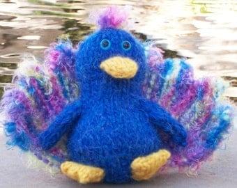 Percy Peacock PDF Knitting Pattern