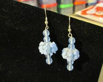 Earrings - Cornflower Blue