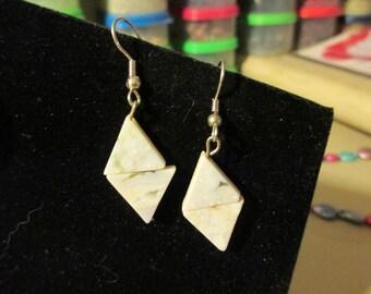 Earrings - Ocean Jasper Diamonds
