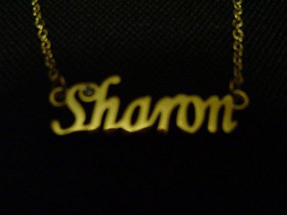 Sharon: Gold Tone (Necklace)