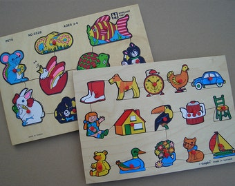 Puzzles - Children's Wood Puzzles