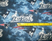 New England Patriots Cotton Fabric - 1 yd X1 yd