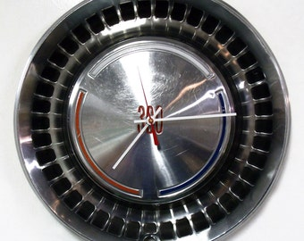 1970 Chrysler 300 Hubcap Clock - Mopar Classic Car Hub Cap Wall Decor - SALE
