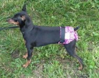 Doodlebug Dud's  Dog Seasonal Panties - helps with incontinence and pets in heat