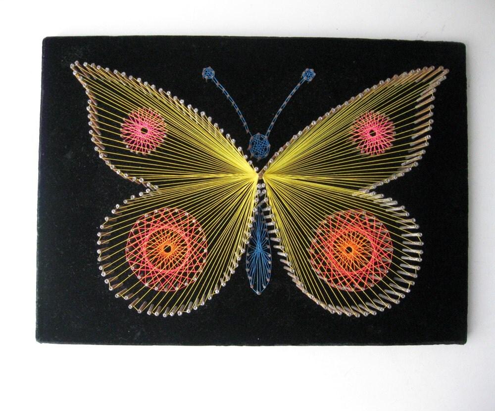 Butterfly String Art - photo#24