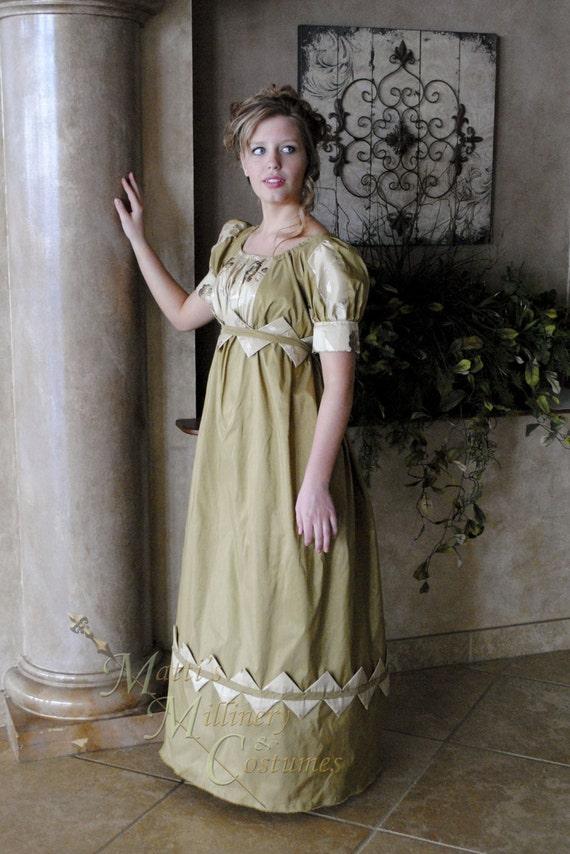 Custom Diamond Evening Formal Regency Jane Austen By