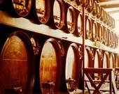 Bruges Jenever Barrels - Brugge, Belgium - Art Photography Print - Aging gin - liquor - spirits - genever - Dad - man - office - bar