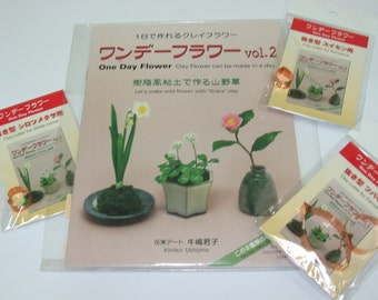 One Day Flower, Wild Flower Made by Grace Clay (Book) Volume 2