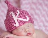 BABY HAT PERSONALIZED Newborn Baby Hat Infant Girl or Boy Hat, Photography Prop
