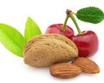 Cherry Almond Fragrance Oil. 2 oz.  Soap and candle supplies. Bath & Body. Cosmetic grade