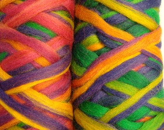 Merino Pencil Roving- Party Time